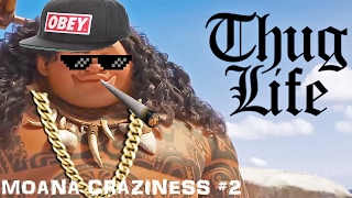 Moana BEST PARODY #2 - Try Not To Laugh Or Grin | Moana Craziness HD
