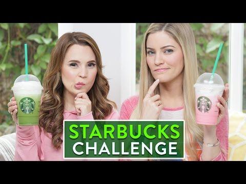 STARBUCKS CHALLENGE ft iJustine!