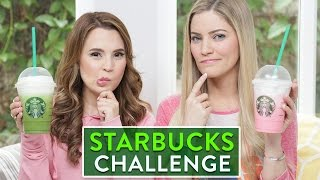 STARBUCKS CHALLENGE ft iJustine!(I got a lot of requests to do the Starbucks challenge! Let me know down below what other videos you would like to see! *Order The Nerdy Nummies Cookbook ..., 2016-02-06T16:29:31.000Z)