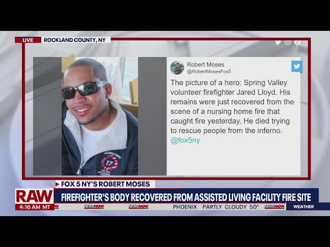 Firefighter's body recovered in New York assisted living facility blaze | NewsNOW from FOX
