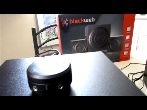 BlackWeb Speaker Setup