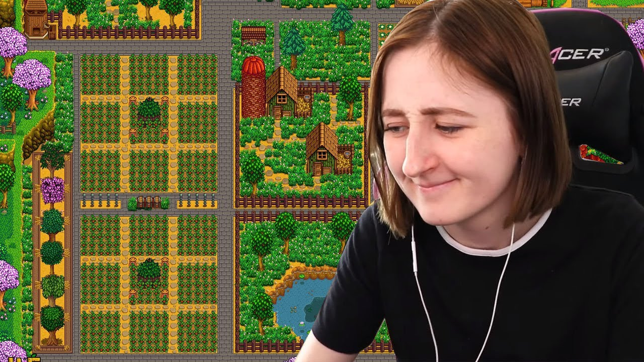 Completely Reorganizing My Entire Farm in Stardew Valley (Streamed 6/4/19)