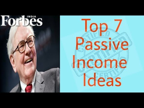 How to Earn Money Without Working | Top 7 Passive Income Ideas that works