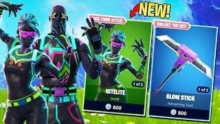 THE EASIEST SKIN TO SPOT IN ALL OF FORTNITE?- LITESHOW& NITELITE (Fortnite Battle Royale Season 4)