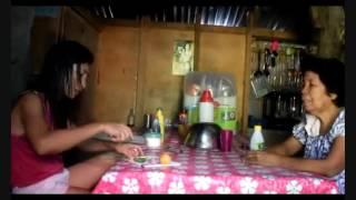 FILIPINA  BEAUTY JESSICA COOKS BANANA HEART KINILAW NGA PUSO SA SAGING EXPAT PHILIPPINES