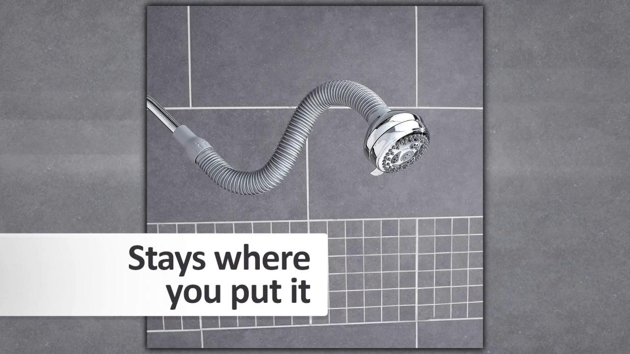 Flexible Shower Heads by Waterpik® - YouTube