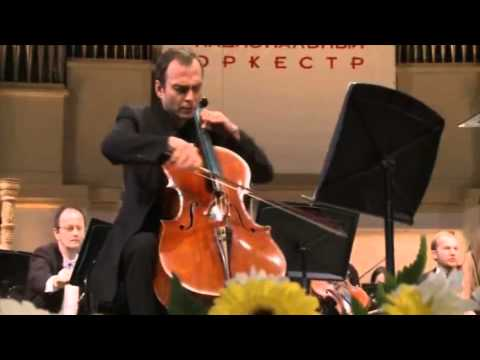 Britten Cello Symphony 2 mov. Pavel Gomziakov