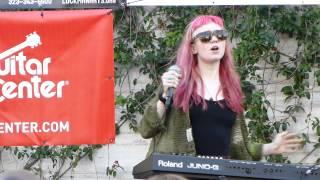Grimes #15 LIVE HD (2012) Make Music Pasadena Festival