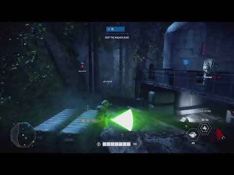 Star Wars Battlefront: 2 22 Yoda killstreak!