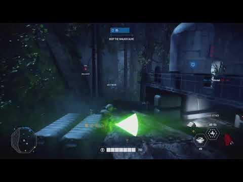 Star Wars Battlefront: 2 22 Yoda killstreak!