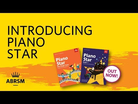 Introducing two new Piano Star books   ABRSM