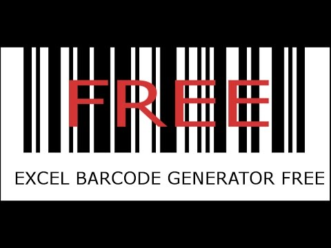 Any Size Barcode Generator in Excel !! Free to download ...