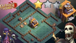 BH5 Base Builder Hall 5 Anti 1 Star/Anti 2 Star With Replay Anti Giant Anti Barcher Anti Air Troops