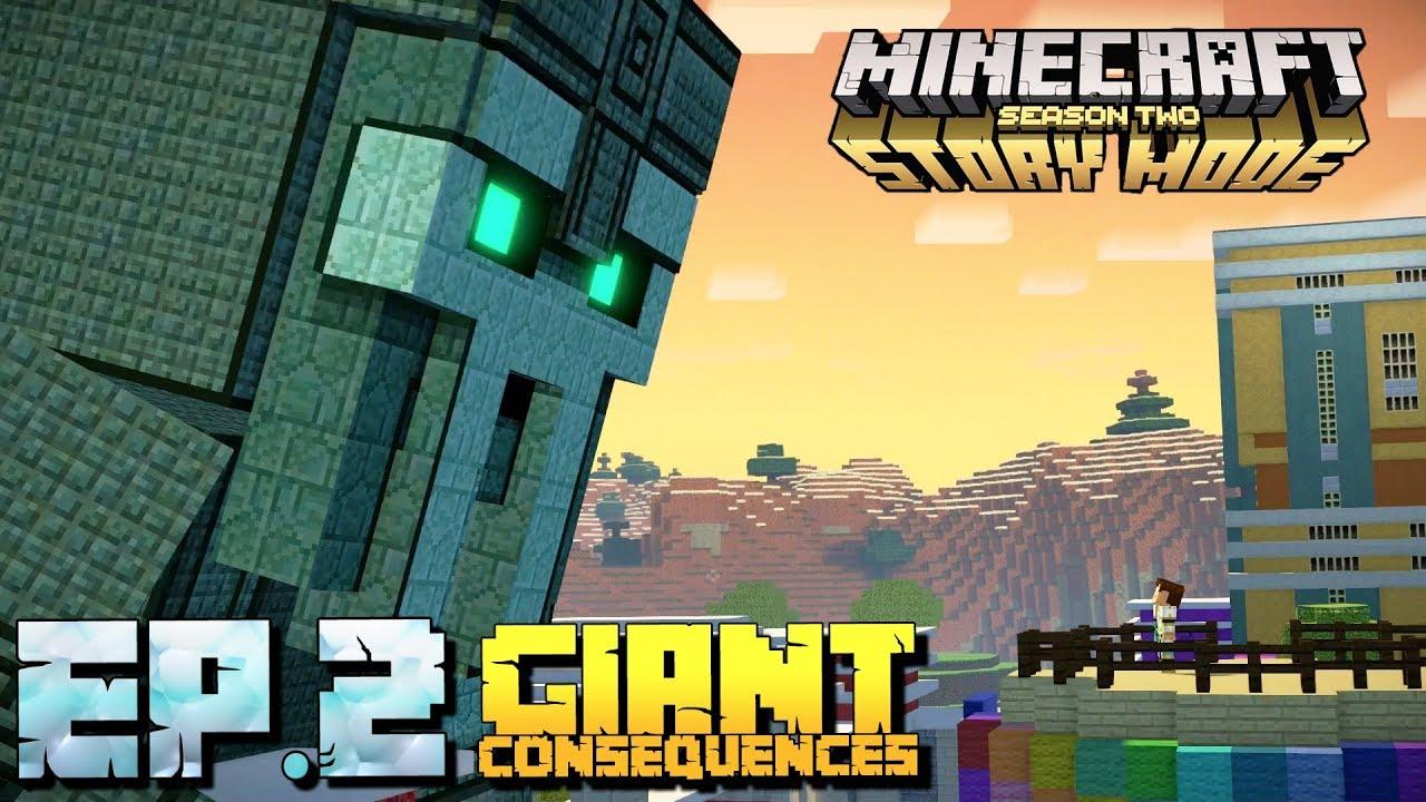 Minecraft Story Mode Season 2 Gameplay Part 1 Episode 2 Giant