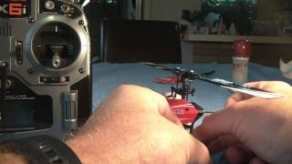 E-Flite Blade MCPX binding to DX6i - Video 2 of 5