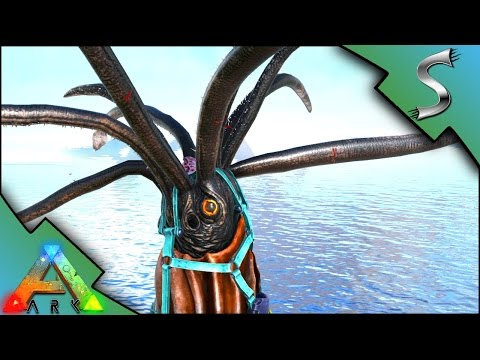 TUSOTEUTHIS TAMING! HIGH LEVEL SQUID TAME WITH BLACK PEARLS - Ark: Survival Evolved [S3E72]