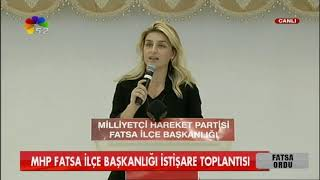 13/10/2018 MHP FATSA İLÇE BAŞKANLIĞI İSTİŞARE TOPLANTISI