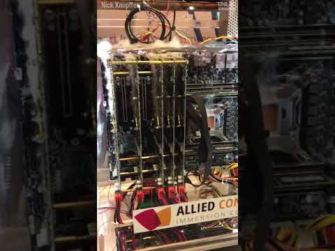 Allied Control immersion cooling extreme liquid cooling gaming pc