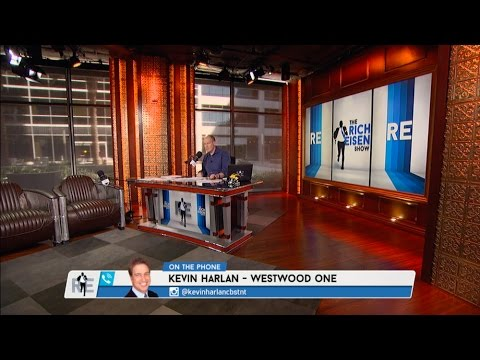 CBS NCAA Play-by-Play Announcer Kevin Harlan Talks March Madness, NBA & More - 3/24/17
