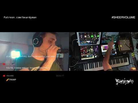 SHEER VOLUME - Live Stream No.7 - Stream Of Consciousness