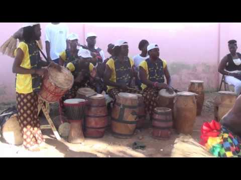 Cultural performance in Ghana, West Africa