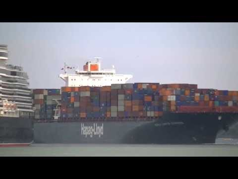 Hapag Lloyd Kuala Lumpar Express arrives from Colombo for Container Port 15/05/13