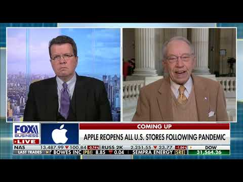Grassley Joins Cavuto to Talk COVID Relief