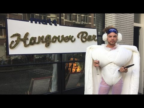 NH: De Hangover Bar in Amsterdam