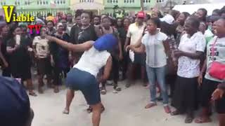 Happening Now In Rivers : Protests Rock Port Harcourt Over Suspension Of Governorship Election