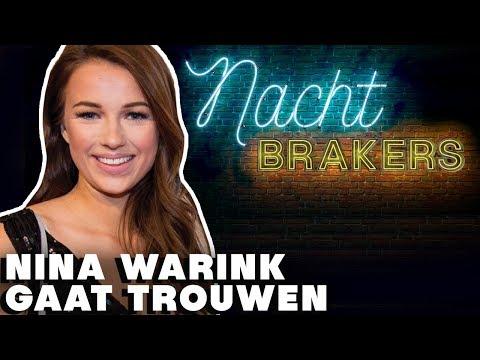 NINA WARINK in eigen LINGERIELIJN of BRUIDSJURK?😮| Nachtbrakers - CONCENTRATE