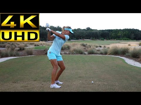 ANNA NORDQVIST 4K UHD SLOW MOTION & REGULAR SPEED DTL DRIVER GOLF SWING
