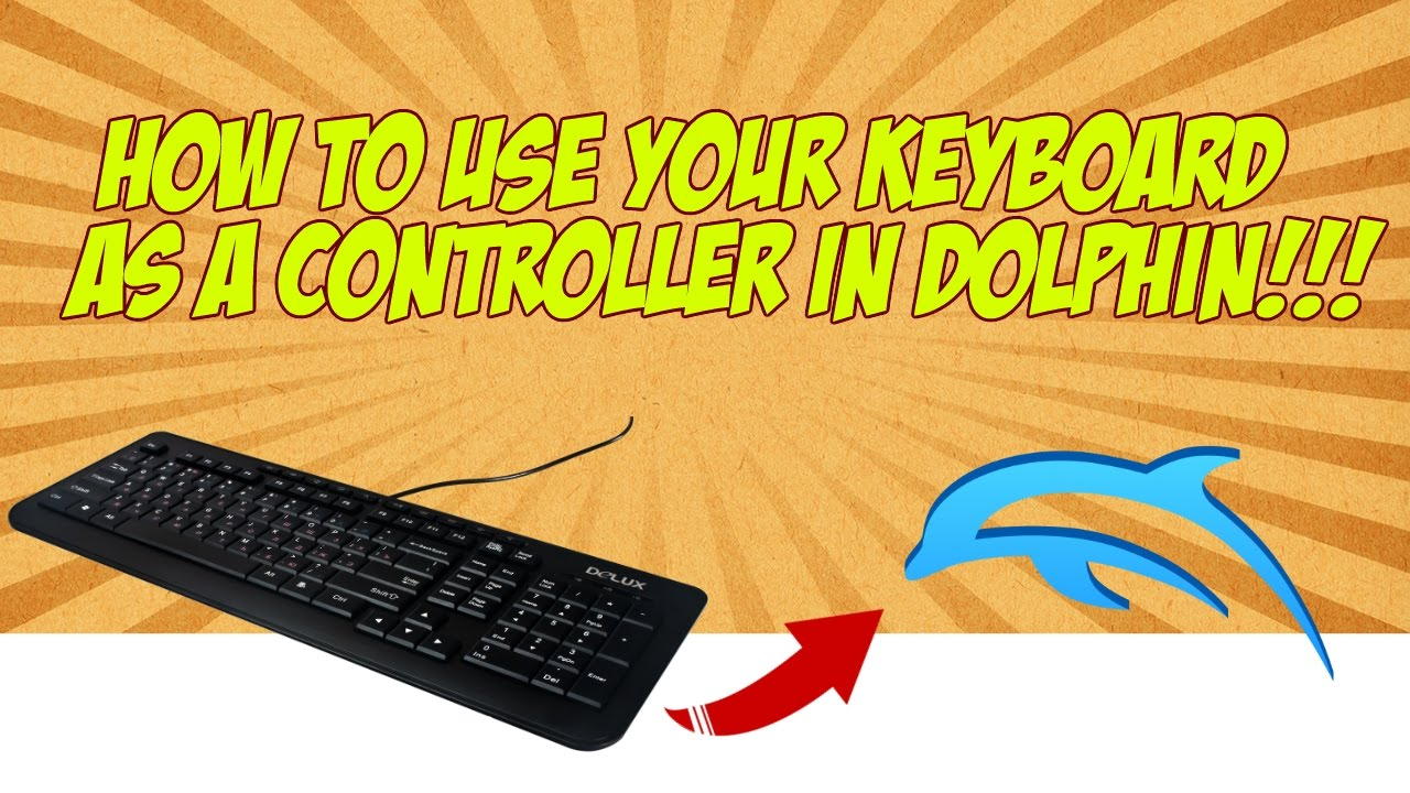 How to Use a Keyboard as a Wii controller in Dolphin on a Mac or PC!!!  (Working 2018)