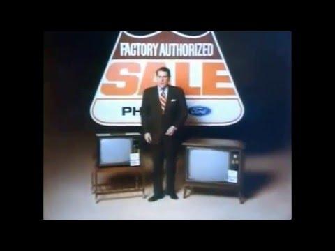 1970s Television Set Commercials RCA Zenith GE Sylvania Motorola