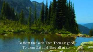 Jesus, Thou Joy of Loving Hearts