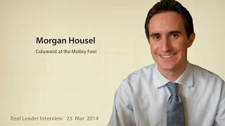 Morgan Housel on money, psychology, and investing