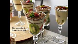 Magnolia tarifi / Pratik sütlü tatlı / Tatlı tarifleri / Ev Lezzetleri