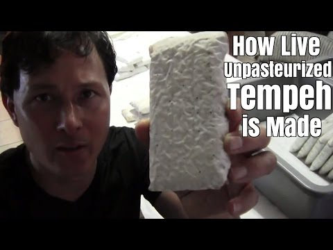 How Live Unpasteurized Tempeh is Made