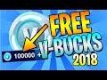 (2018) HOW TO EARN FREE V-BUCKS - FORTNITE BATTLE ROYALE - VBUCKS GIVEAWAY!