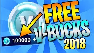 (2018) HOW TO EARN FREE V-BUCKS - FORTNITE BATTLE ROYALE - VBUCKS GIVEAWAY!