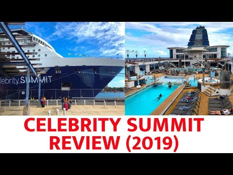Celebrity Summit Ship Tour (2019)