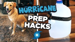 Hurricane Prep Hacks