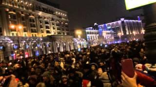 видео 31.12.2015-01.01.2016 Новый Год на Красной Площади часть 3