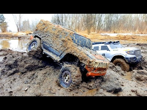 Радиоуправляемые машины в грязи 4х4 — часть 2