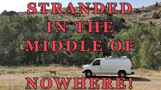 Stranded in the Middle of Nowhere! NO Phone Signal! At the Mercy of Strangers!