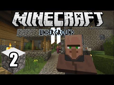 Minecraft Indonesia - Underground 2 : Menemukan Villager! (2)