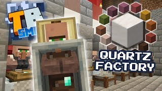 Quartz farming!- Truly Bedrock season1 #49 - Bedrock Edition Youtube Server