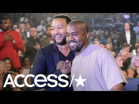 Kanye West & John Legend Dance Out Their Twitter Drama | Access