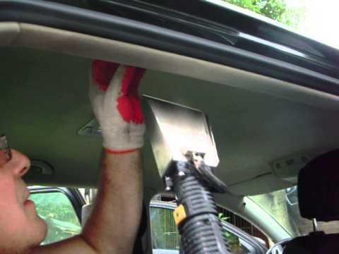 Parowe Pranie Tapicerki Samochodowej Youtube