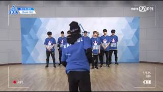 "Produce 101 Season 2 Kim Samul ""Super Hot"" Center Video Evaluation"