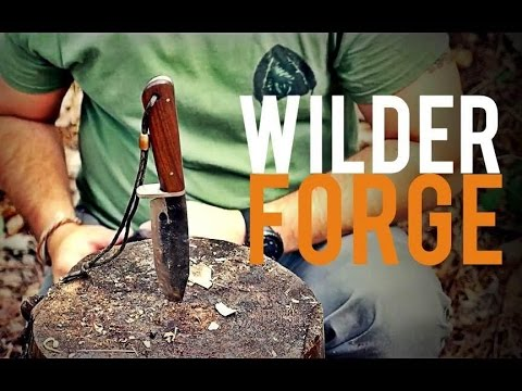 BUSHCRAFT Hand Forged- Wilder Forge Knives